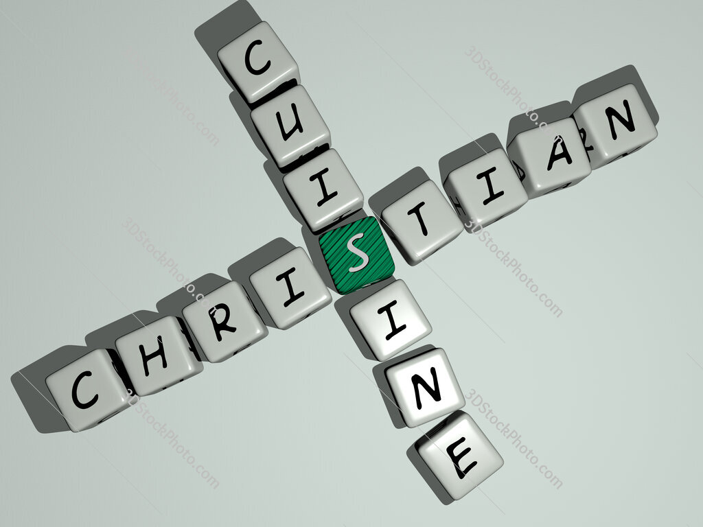 Christian cuisine crossword by cubic dice letters