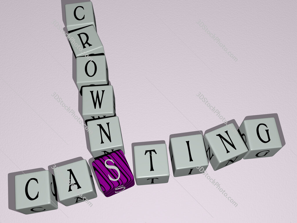 Casting Crowns crossword by cubic dice letters