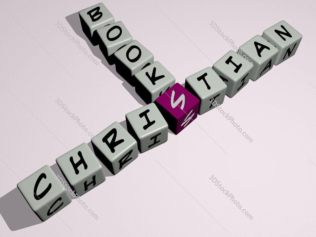 Christian books crossword by cubic dice letters