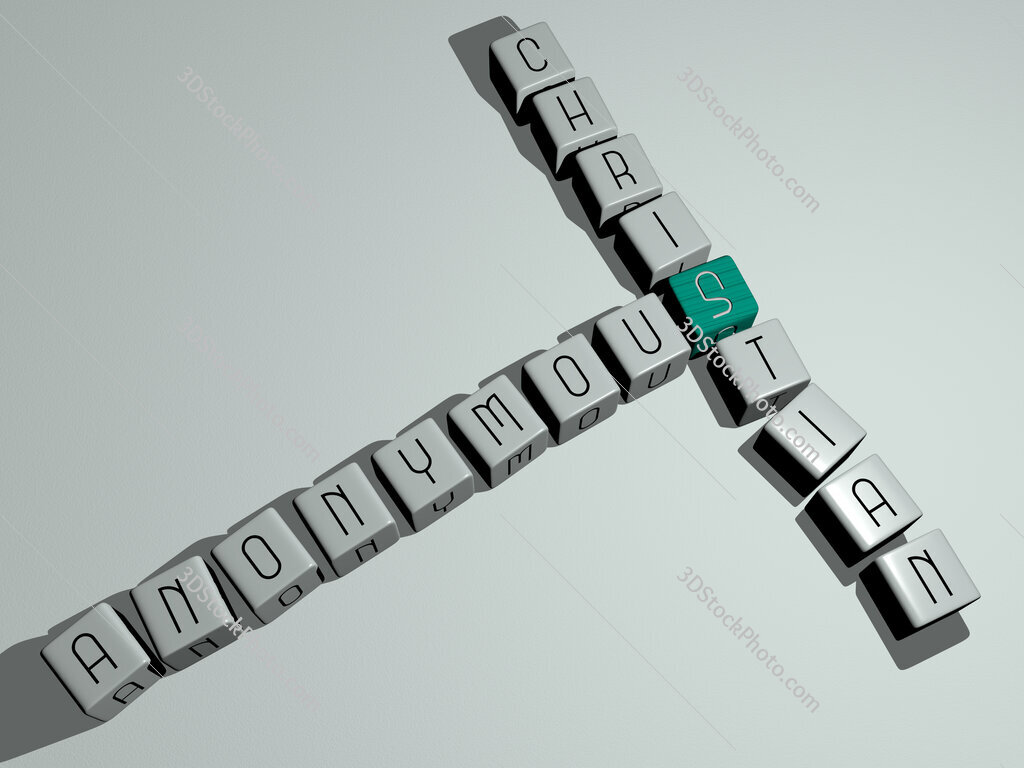Anonymous Christian crossword by cubic dice letters