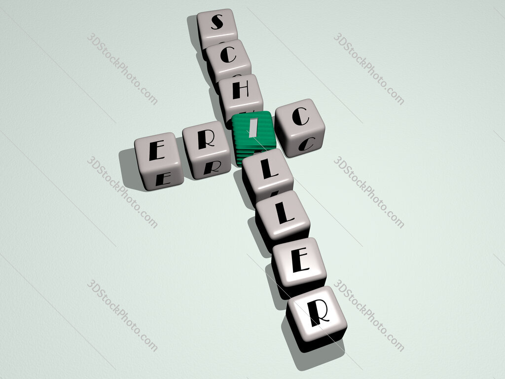 Eric Schiller crossword by cubic dice letters