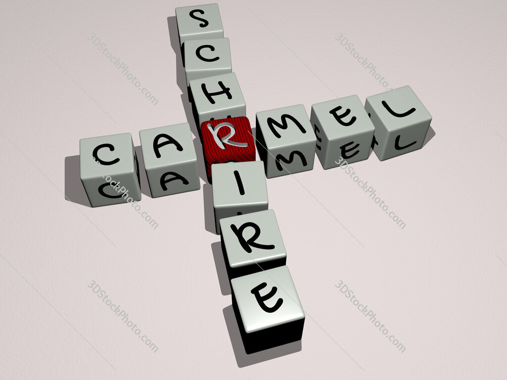 Carmel Schrire crossword by cubic dice letters
