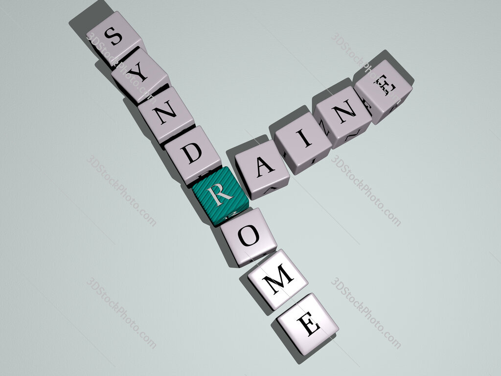 Raine syndrome crossword by cubic dice letters