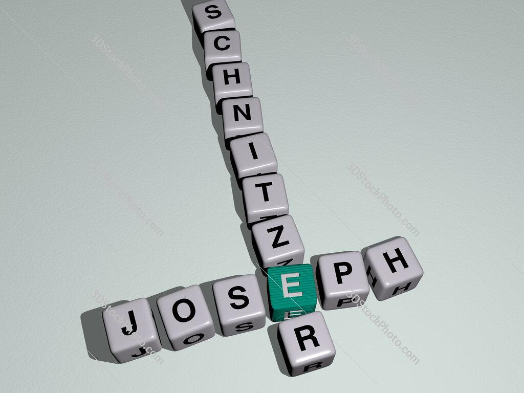 Joseph Schnitzer crossword by cubic dice letters