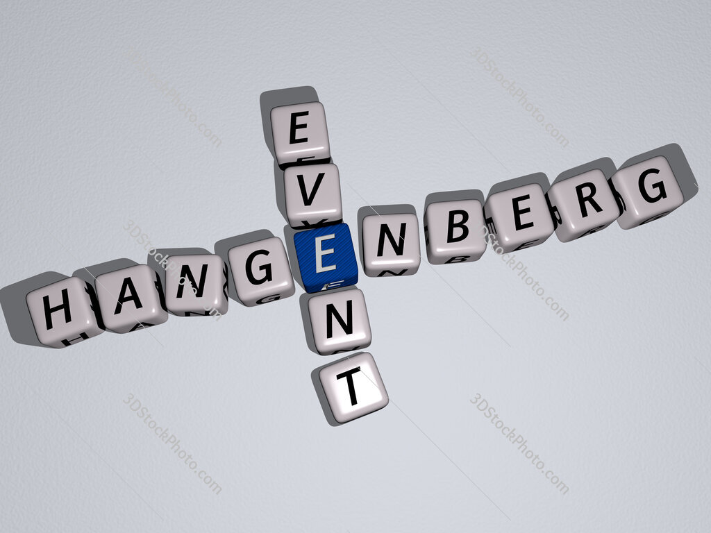 Hangenberg event crossword by cubic dice letters