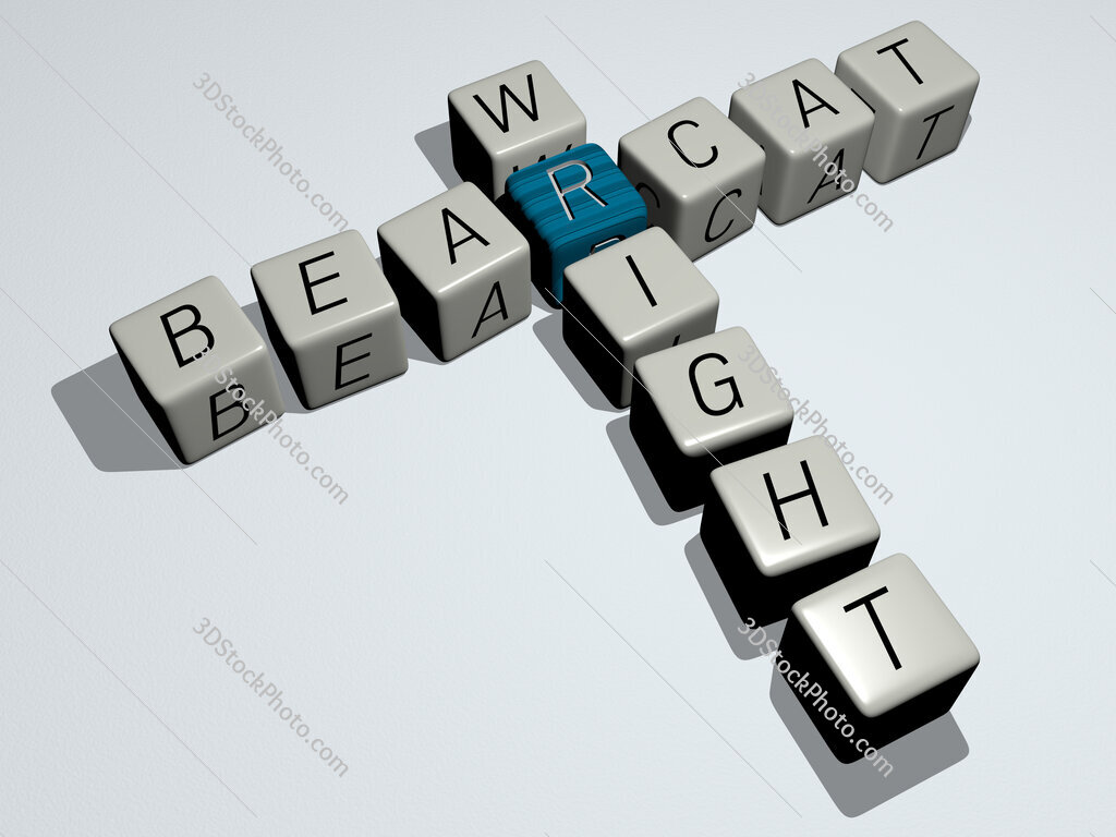 Bearcat Wright crossword by cubic dice letters