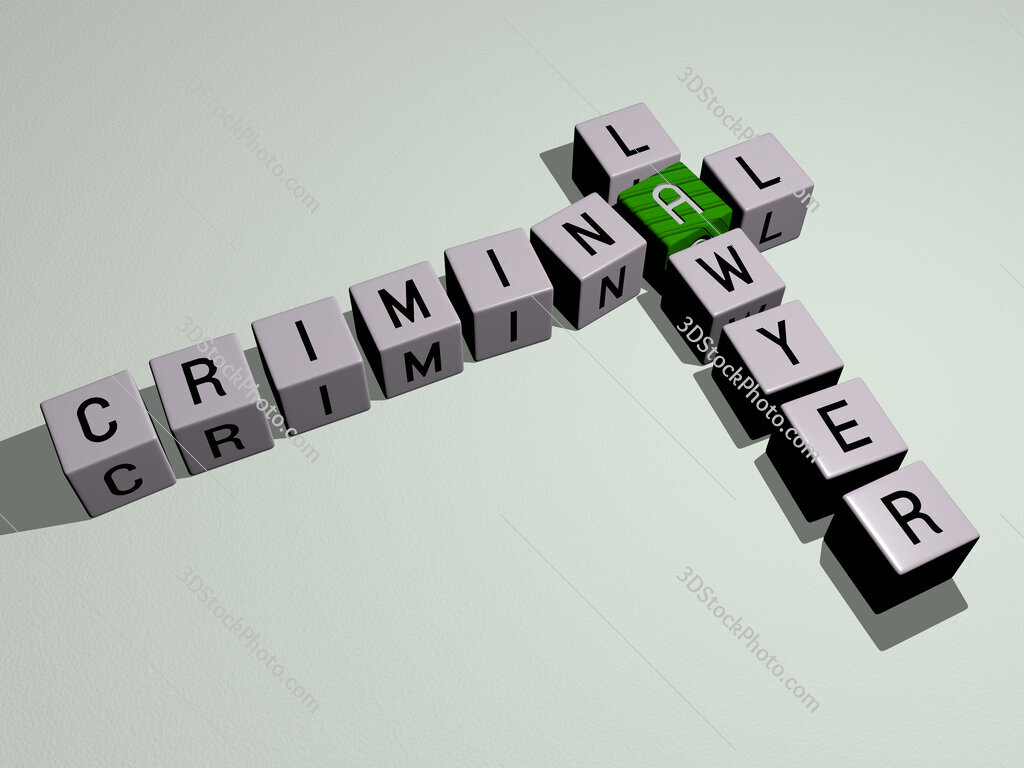Criminal Lawyer crossword by cubic dice letters