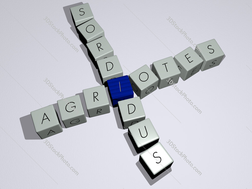 Agriotes sordidus crossword by cubic dice letters