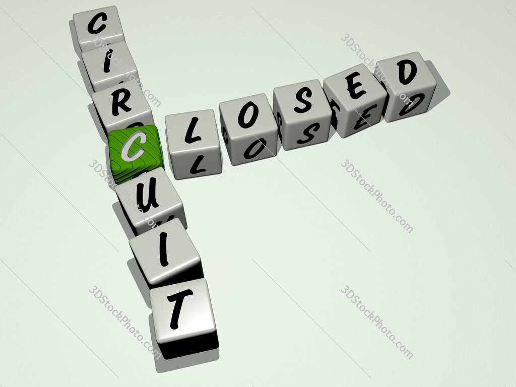 Closed Circuit crossword by cubic dice letters
