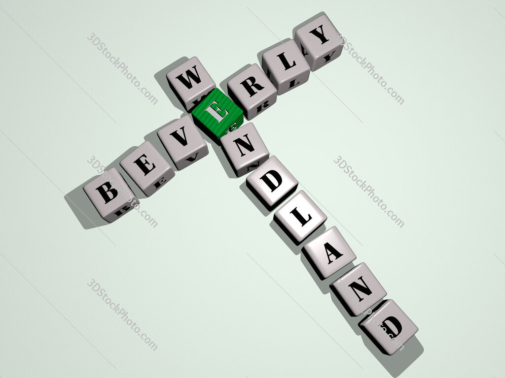 Beverly Wendland crossword by cubic dice letters