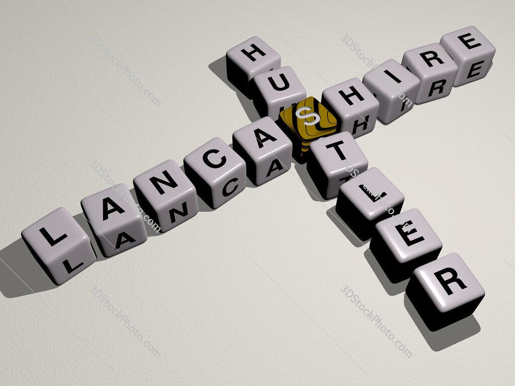 Lancashire Hustler crossword by cubic dice letters