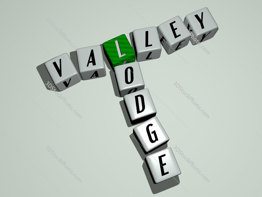 Valley Lodge crossword by cubic dice letters
