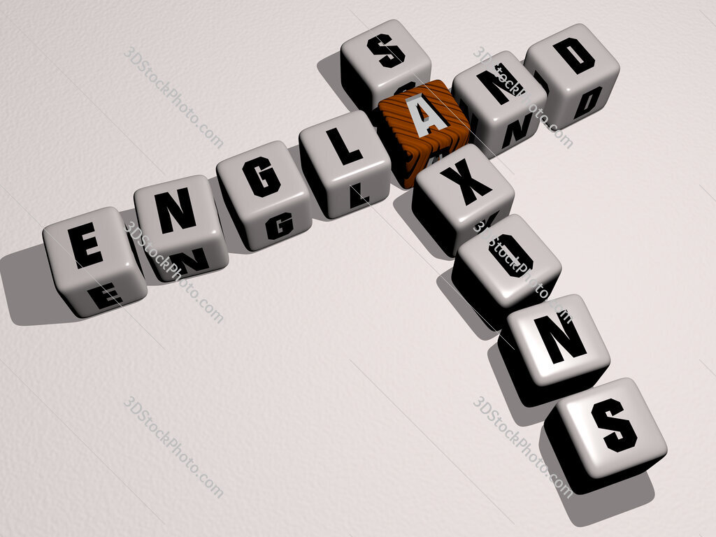 England Saxons crossword by cubic dice letters
