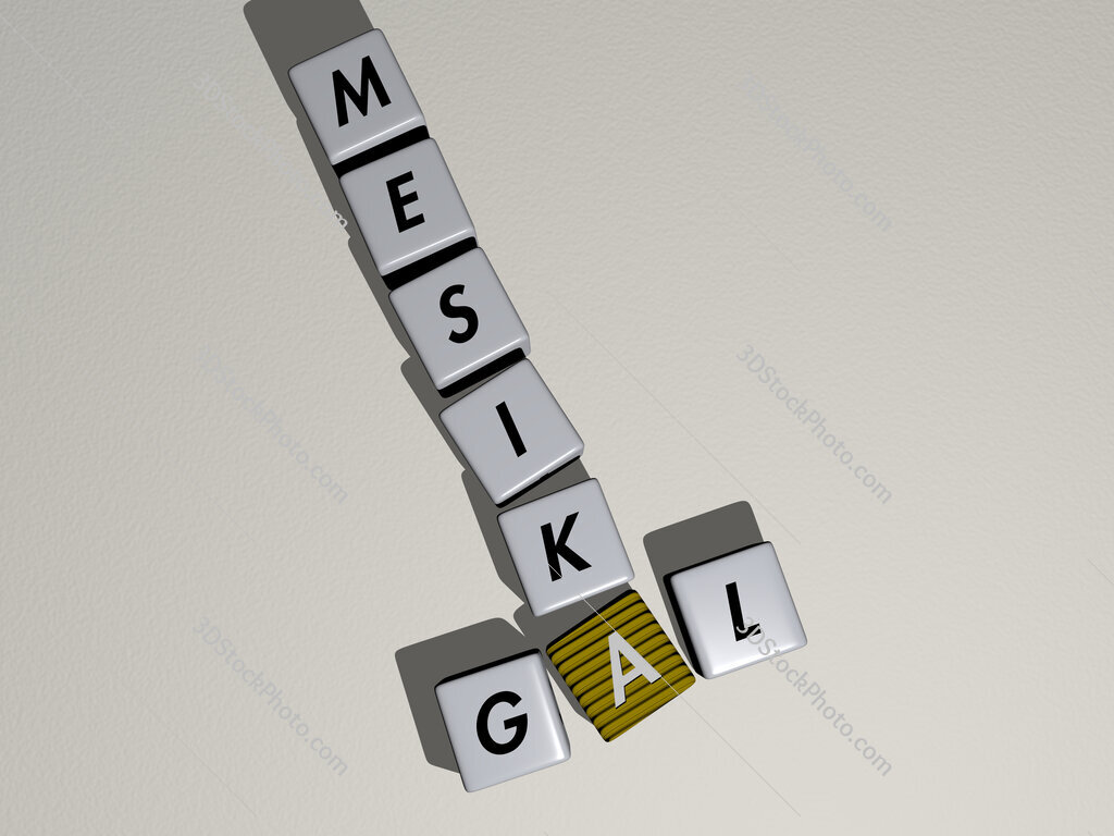 Gal Mesika crossword by cubic dice letters
