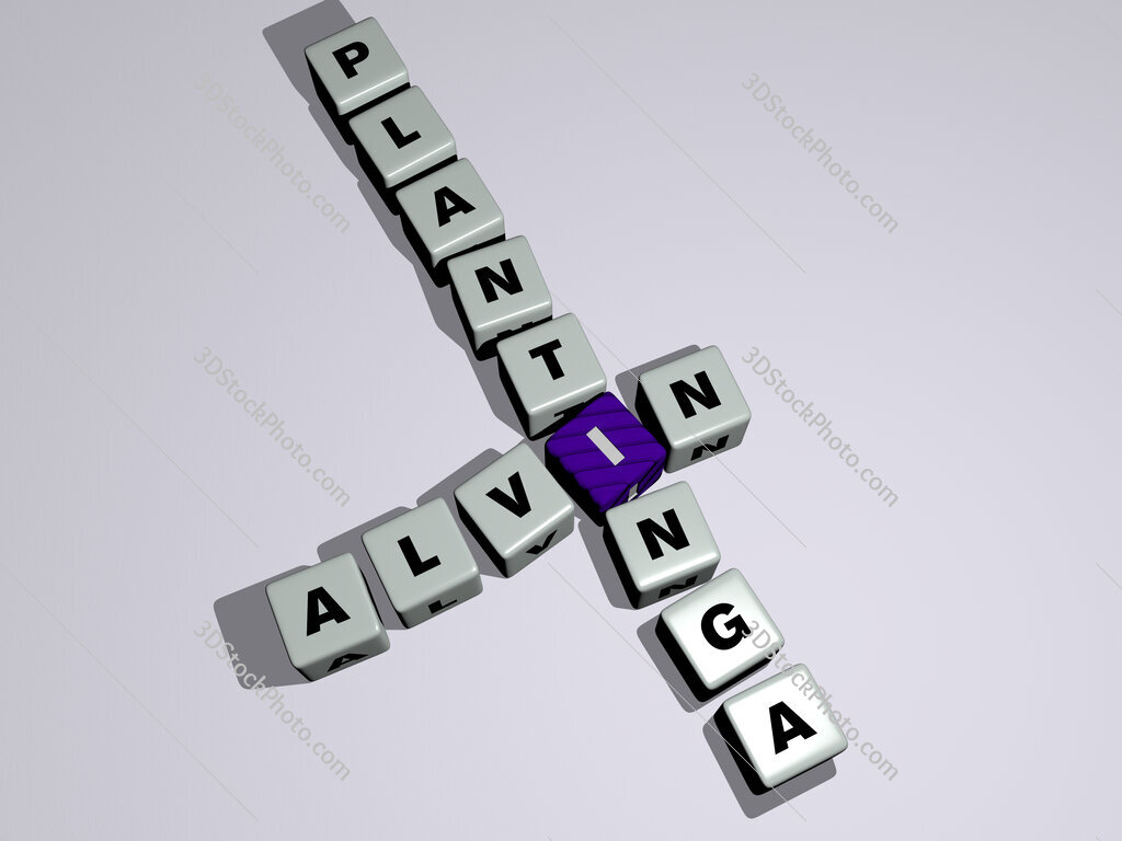 Alvin Plantinga crossword by cubic dice letters