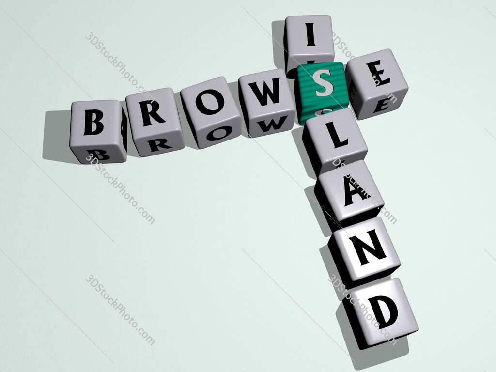 Browse Island crossword by cubic dice letters