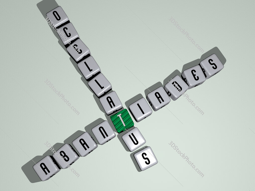 Abantiades ocellatus crossword by cubic dice letters