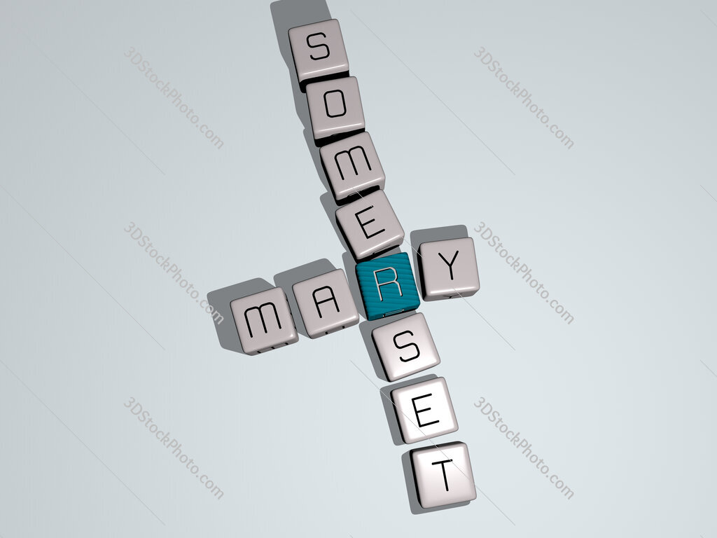 Mary Somerset crossword by cubic dice letters