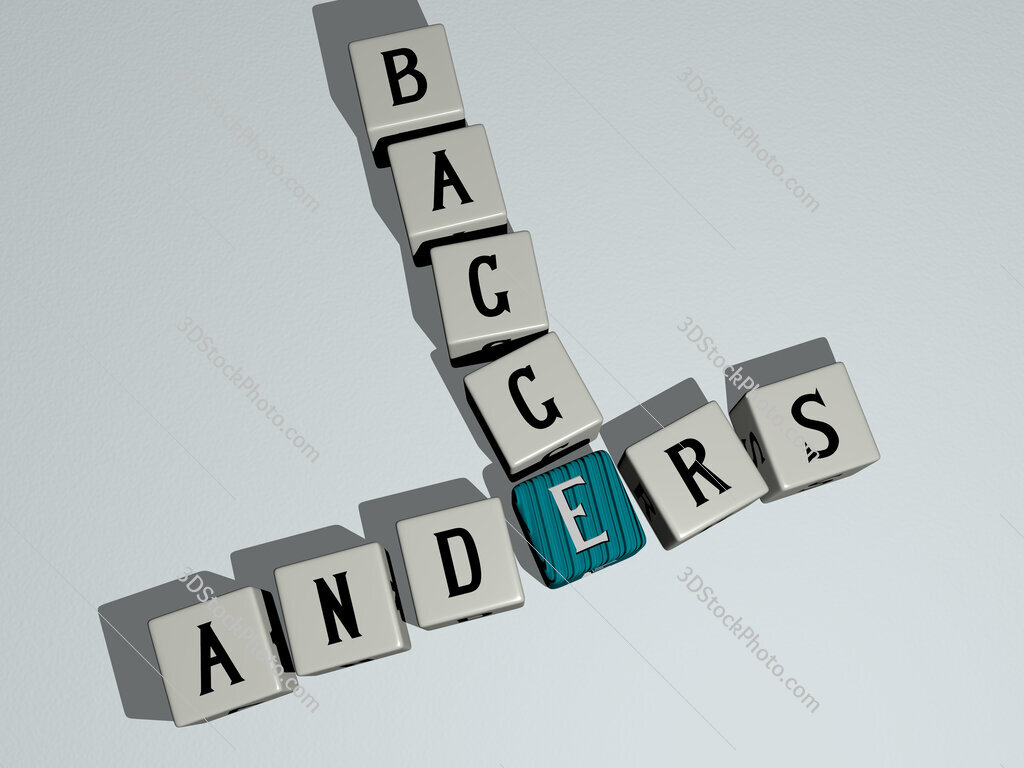 Anders Bagge crossword by cubic dice letters