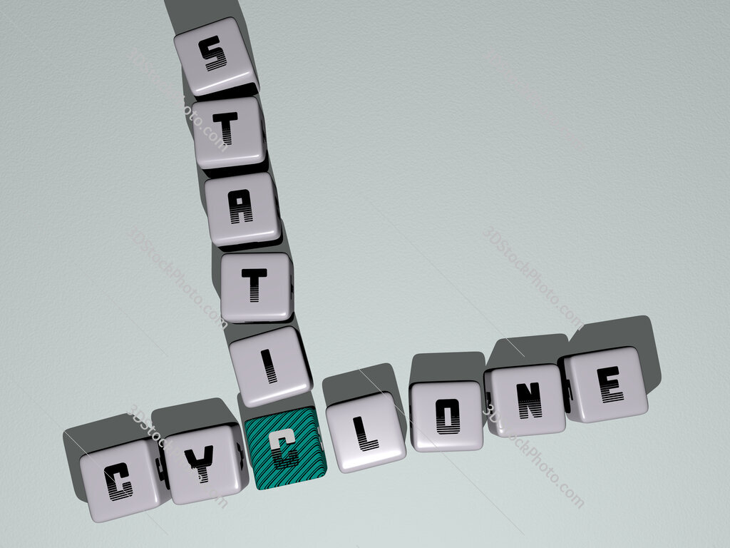 Cyclone Static crossword by cubic dice letters