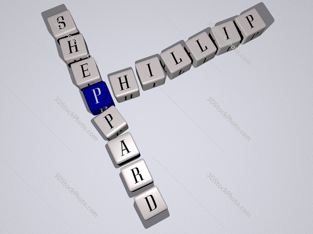 Phillip Sheppard crossword by cubic dice letters