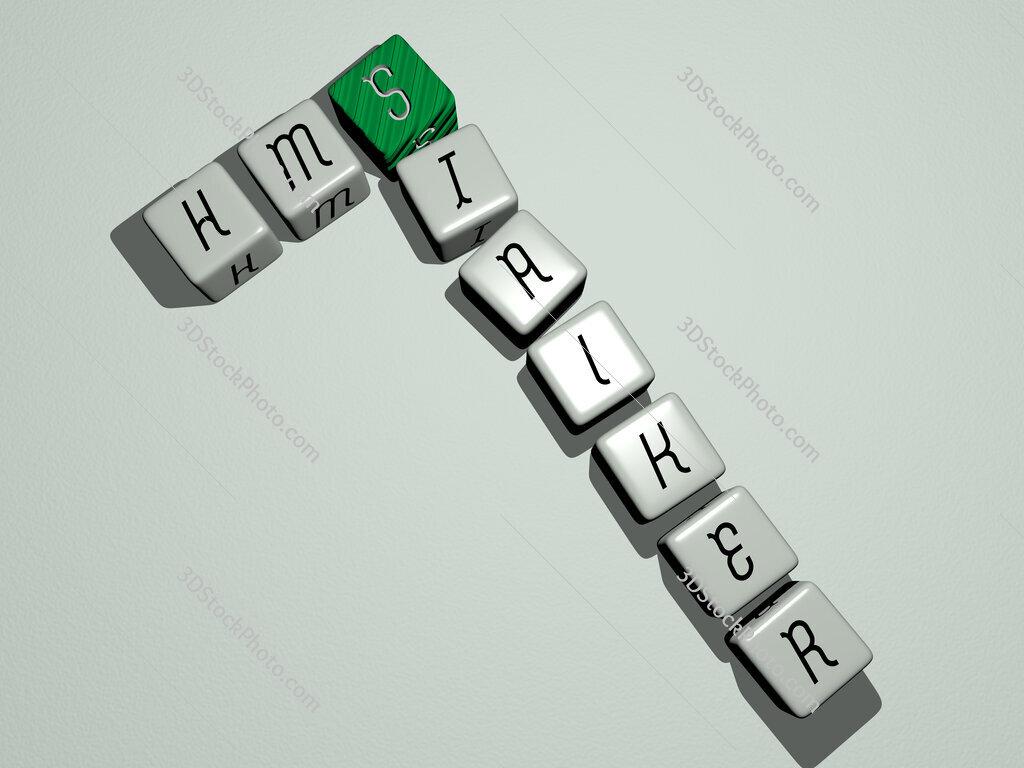 HMS Stalker crossword by cubic dice letters