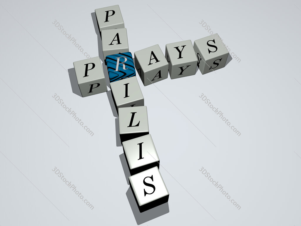 Prays parilis crossword by cubic dice letters