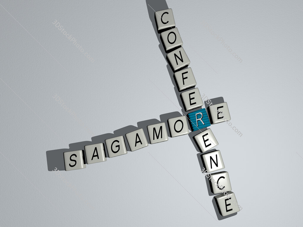 Sagamore Conference crossword by cubic dice letters