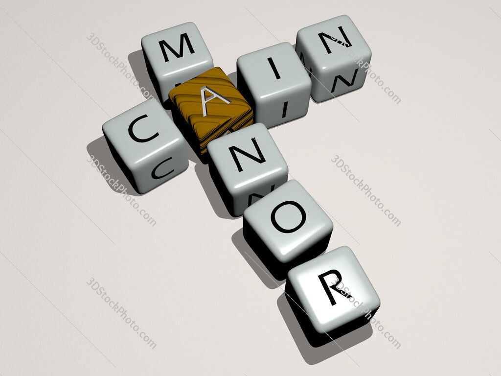 Cain Manor crossword by cubic dice letters