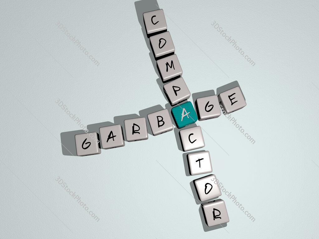 Garbage compactor crossword by cubic dice letters