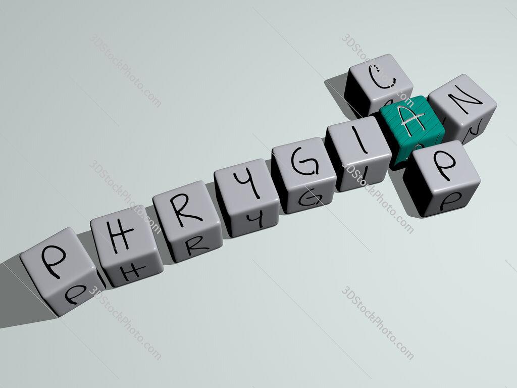 Phrygian cap crossword by cubic dice letters