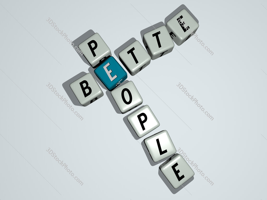 Bette people crossword by cubic dice letters