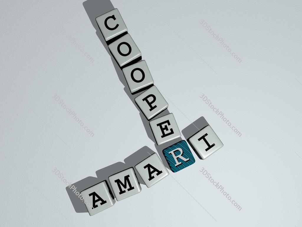 Amari Cooper crossword by cubic dice letters