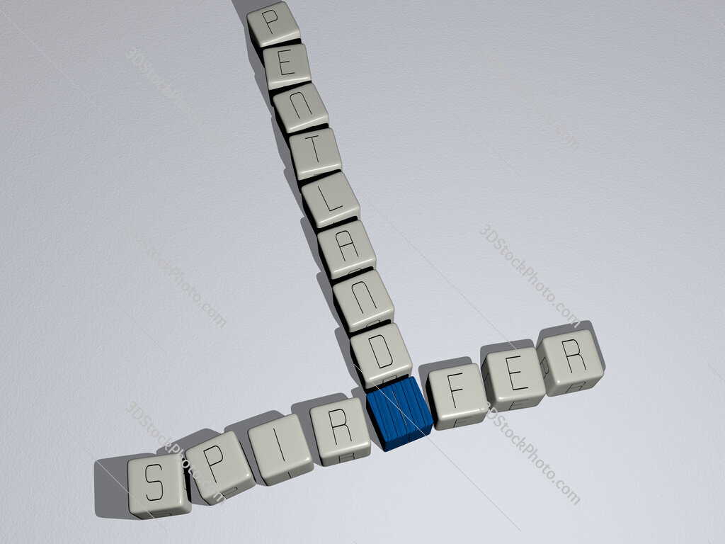 Spirifer pentlandi crossword by cubic dice letters