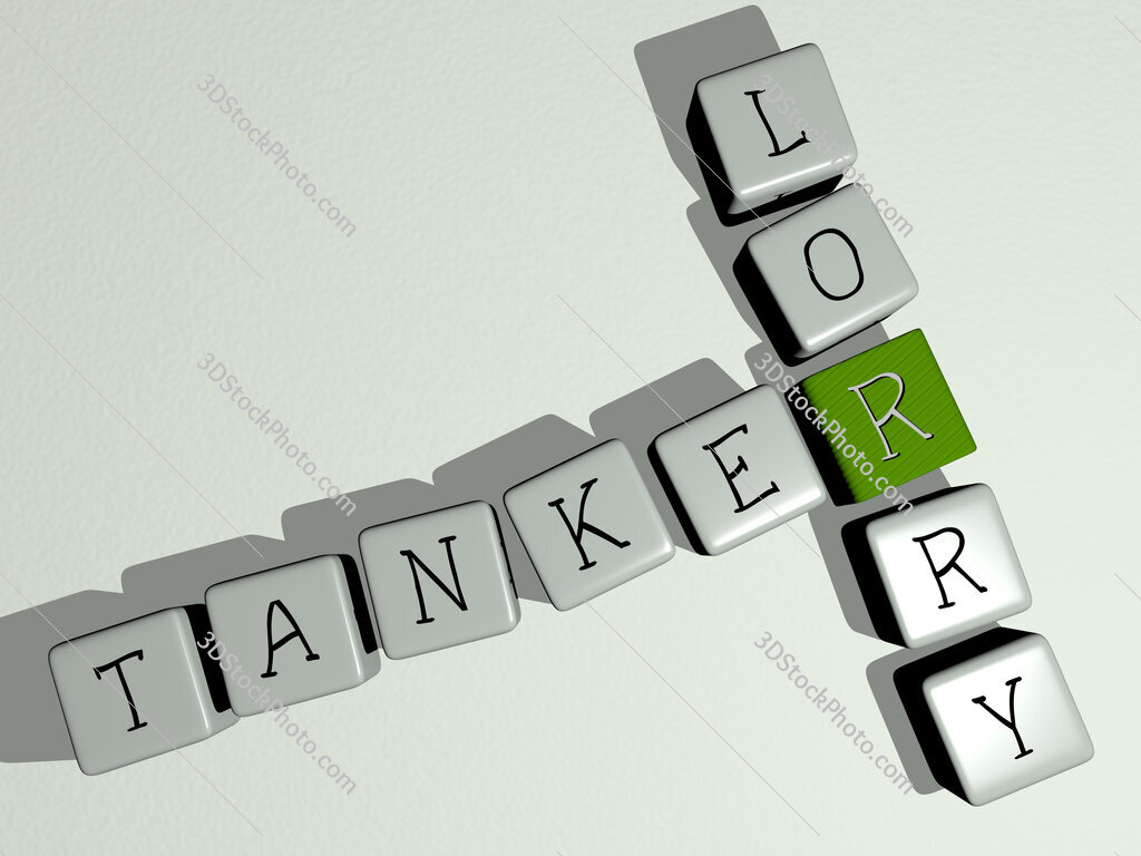 Tanker lorry crossword by cubic dice letters