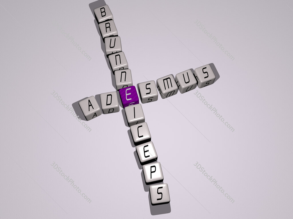 Adesmus brunneiceps crossword by cubic dice letters