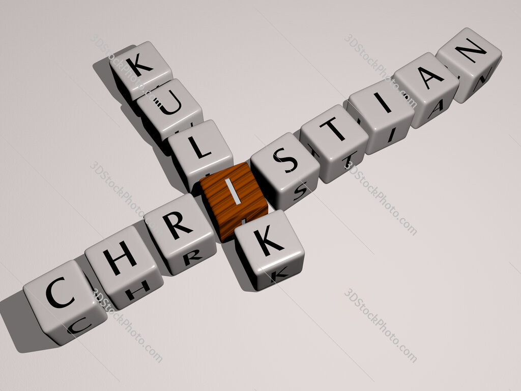 Christian Kulik crossword by cubic dice letters