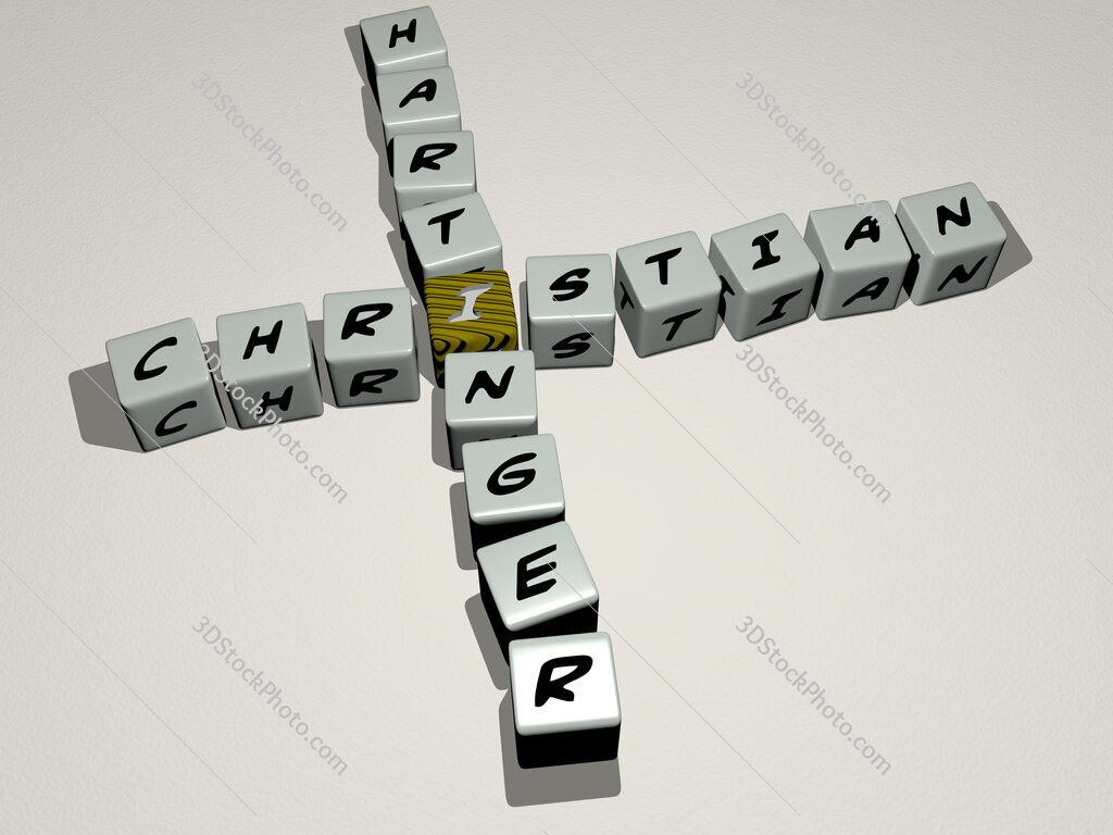 Christian Hartinger crossword by cubic dice letters
