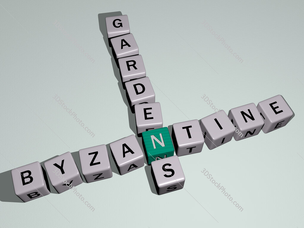 Byzantine gardens crossword by cubic dice letters