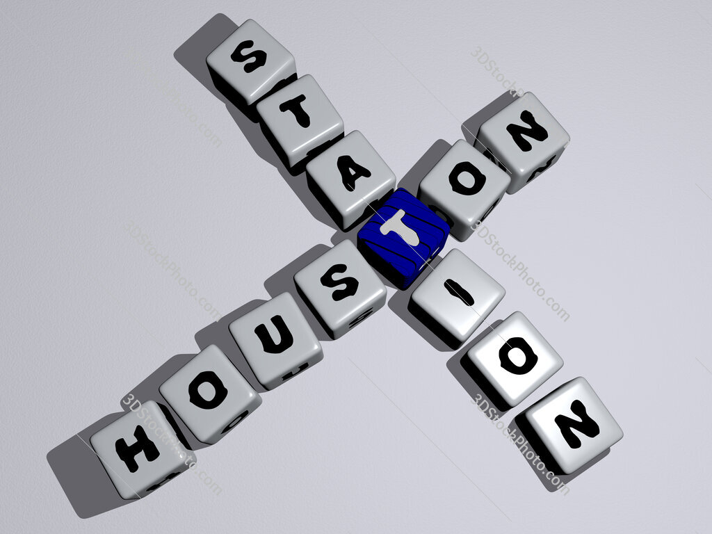 Houston station crossword by cubic dice letters