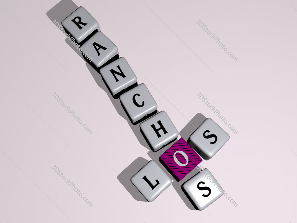 Los Ranchos crossword by cubic dice letters