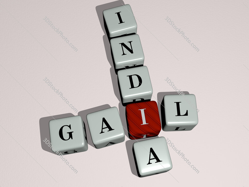 GAIL India crossword by cubic dice letters