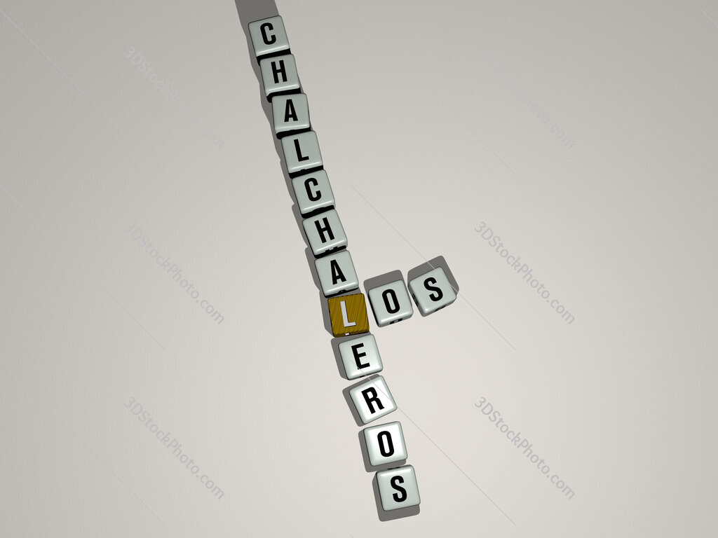 Los Chalchaleros crossword by cubic dice letters