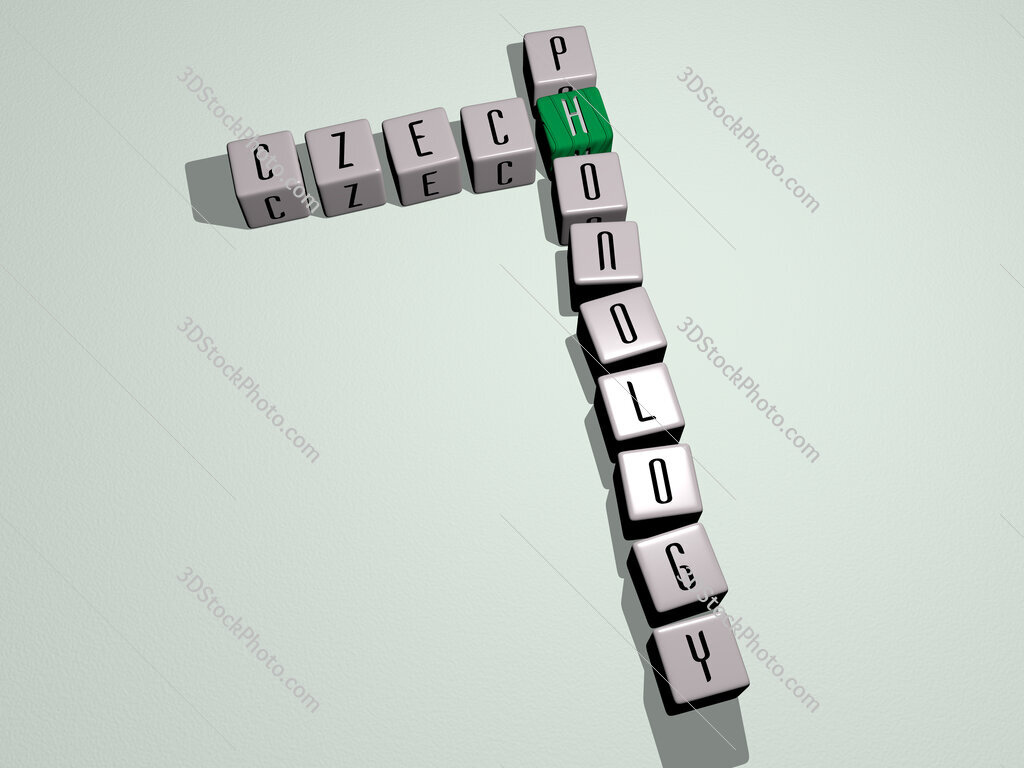 Czech phonology crossword by cubic dice letters