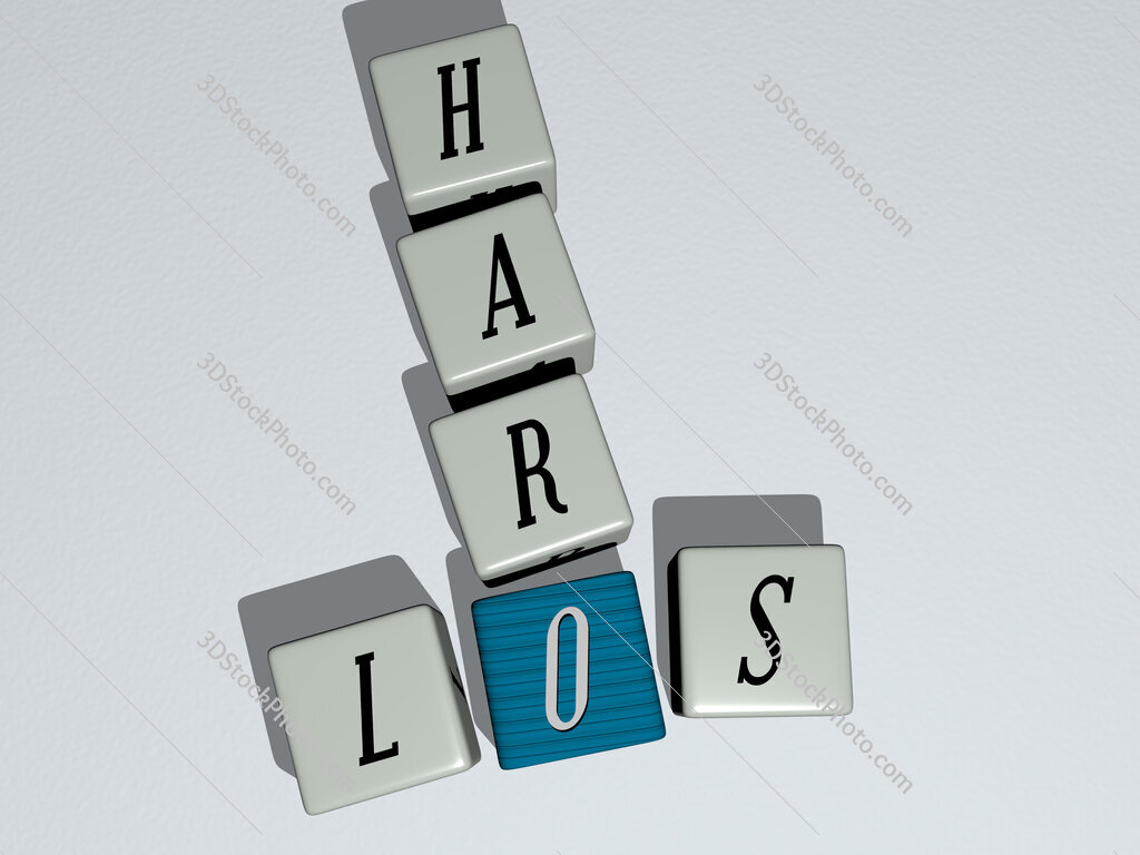 Los Haro crossword by cubic dice letters