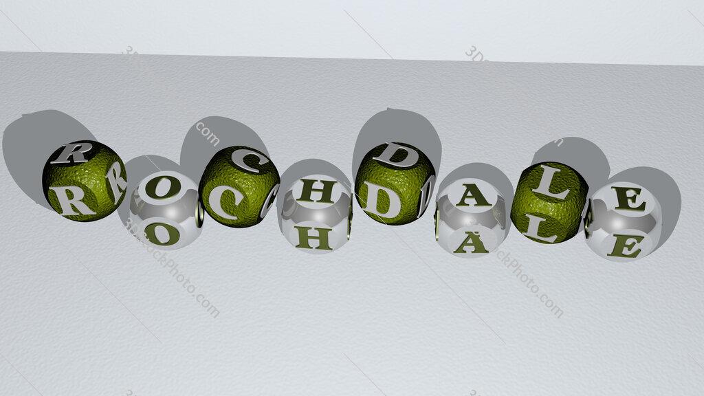 Rochdale dancing cubic letters