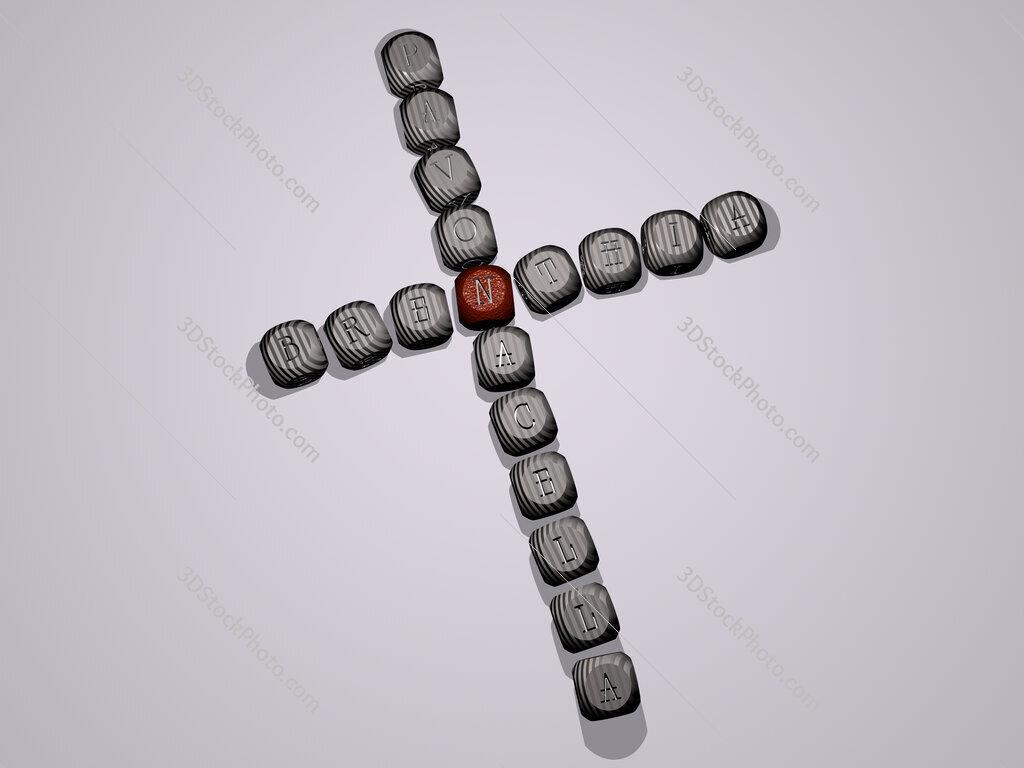 Brenthia pavonacella crossword of dice letters in color