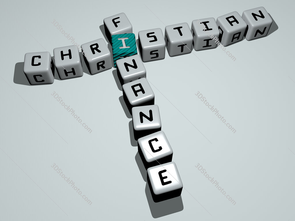 Christian finance crossword by cubic dice letters