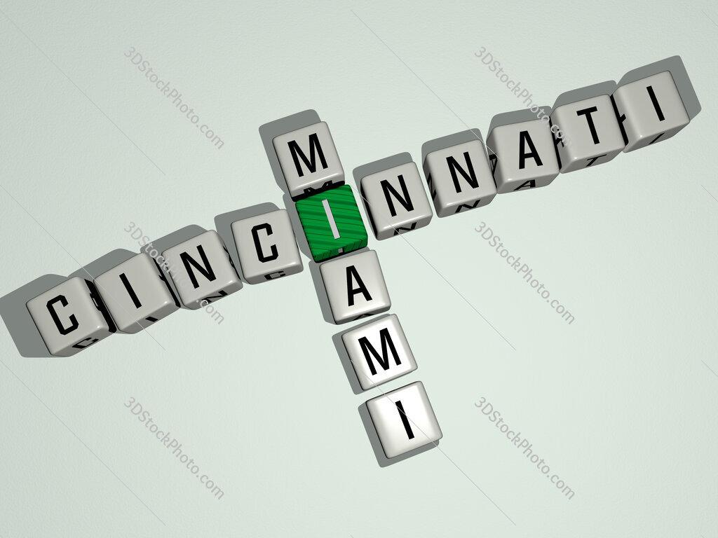 cincinnati miami crossword by cubic dice letters