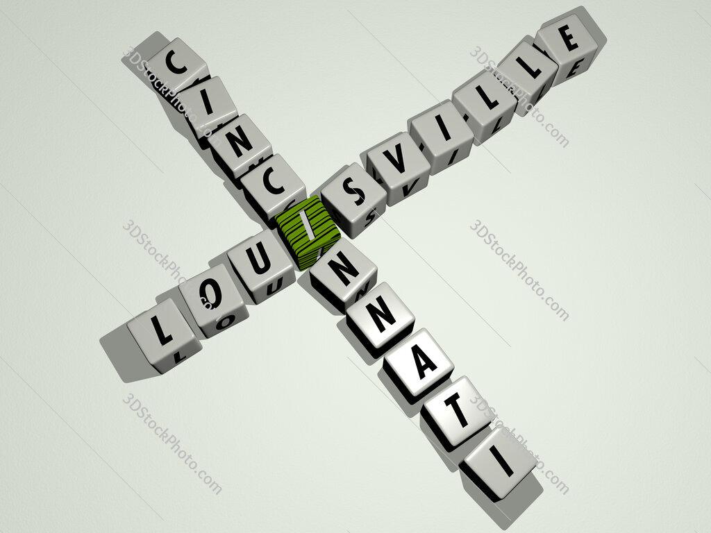 louisville cincinnati crossword by cubic dice letters